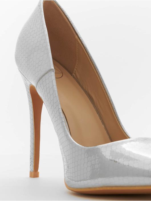 Missguided Chaussures à talon Entry Court Printed Croc 15 argent