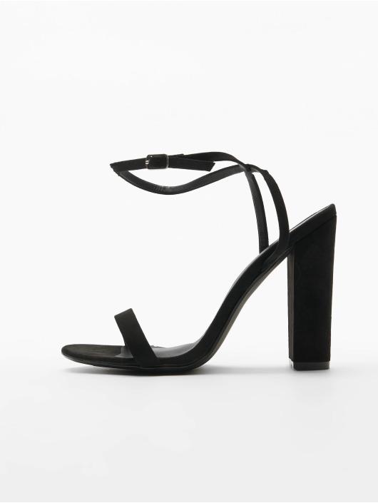 Missguided Chaussures à talon Entry Block Heeled noir