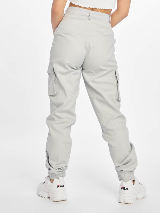 Missguided Chino bukser Plain grå