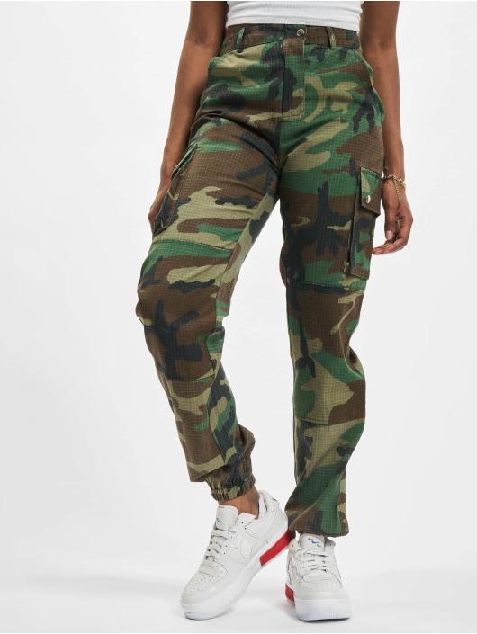 Missguided Chino bukser Premium Camo Printed khaki