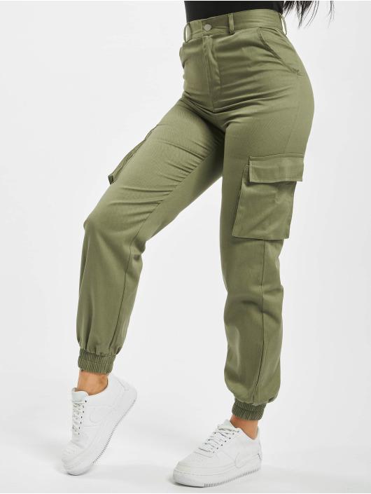 Missguided Chino bukser Petite Plain khaki