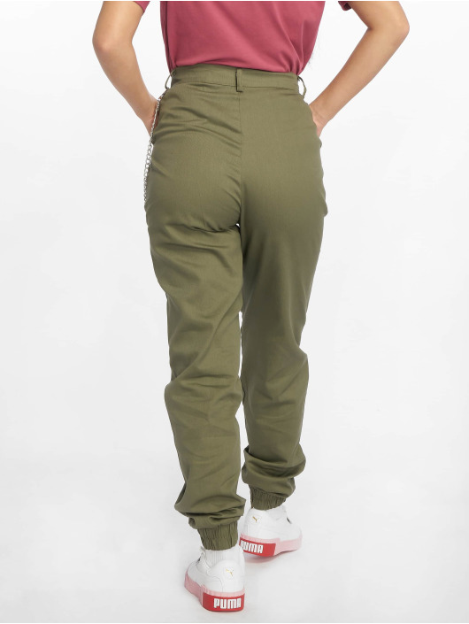 Missguided Chino Chain khaki