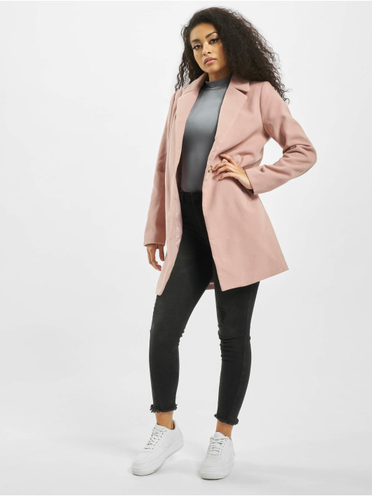Missguided Coats Ultimate Formal rose
