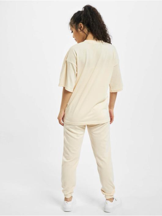 Missguided Collegepuvut Petite Tshirt Coord Jogger beige