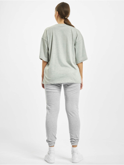 Missguided Collegepuvut T-Shirt Jogger harmaa