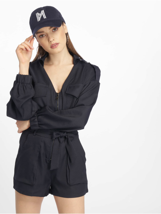 Missguided Combinaison & Combishort Petite Utility Belted bleu