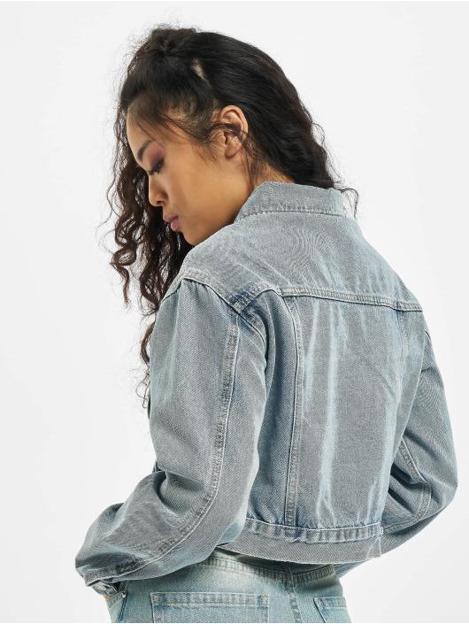 Missguided Denim Jacket Utility blue