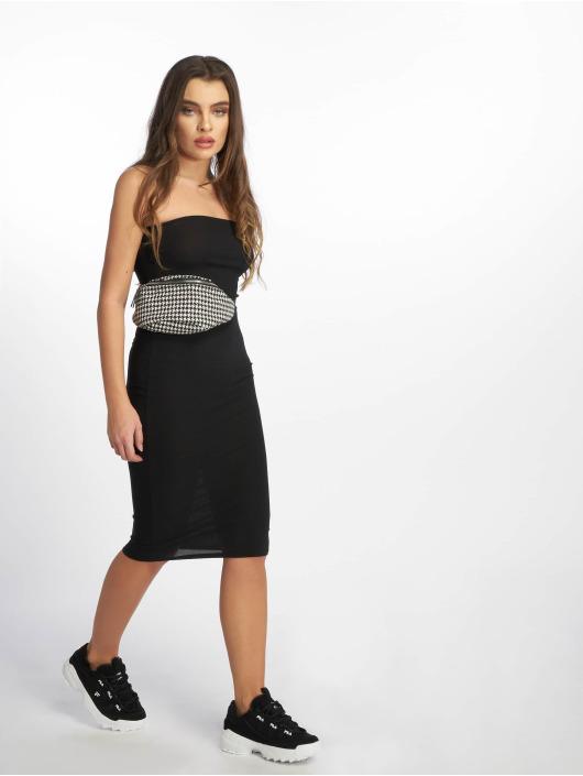 Missguided Dress Bandeau black