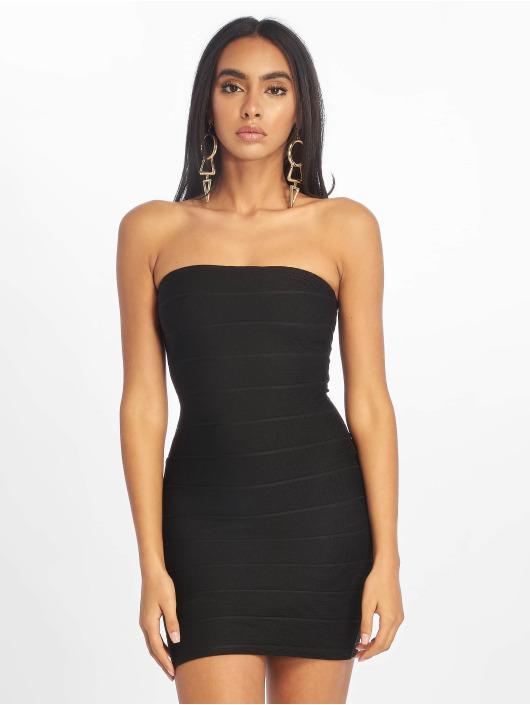 Missguided Dress Bandage Bandeau Mini black