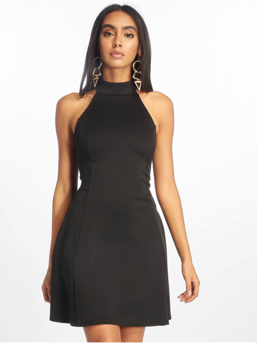 Missguided Dress High Neck Racer black