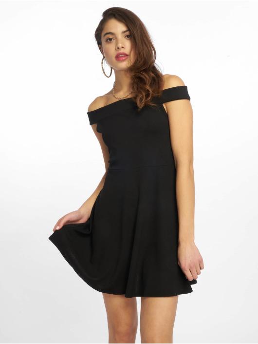 Missguided Dress Bardot Skater black