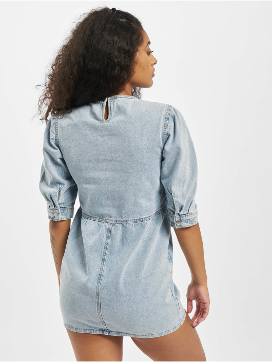Missguided Dress Petite Mid Sleeve blue