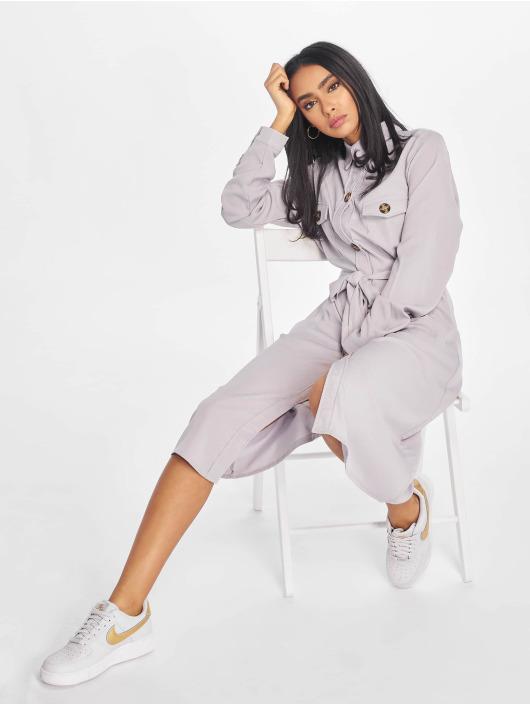 Missguided Dress Utility Shirt grey