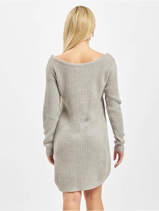 Missguided Dress Ayvan Off Shoulder Jumper grey