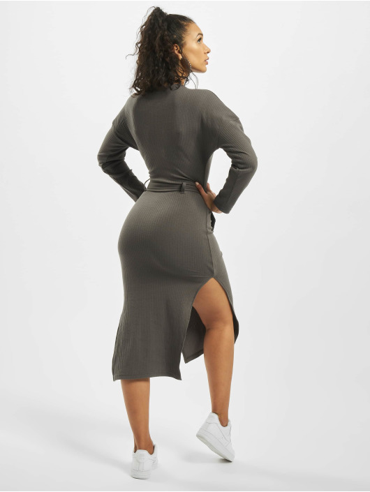 Missguided Dress Petite Tortoiseshell Belt grey
