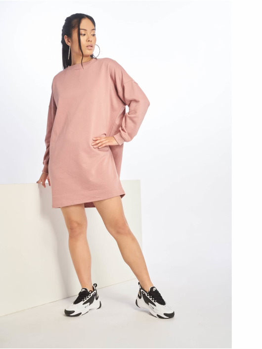 Missguided Dress Sweater rose