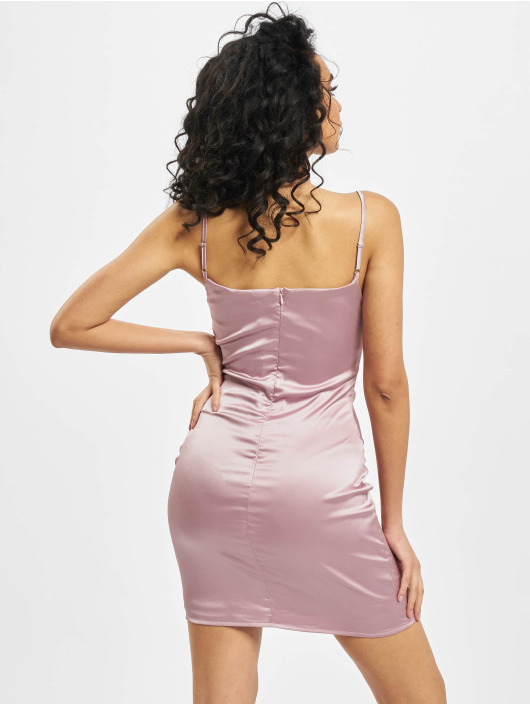 Missguided Dress Petite Satin Slip rose