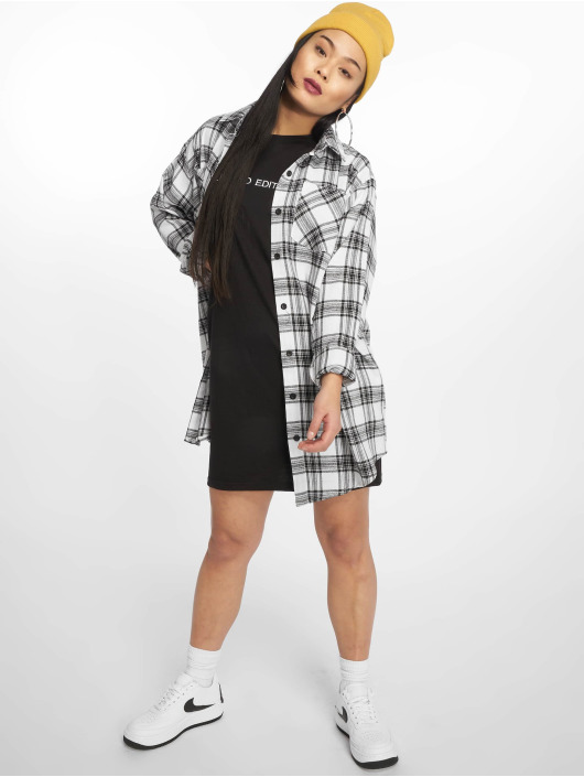 Missguided Dress Oversized white