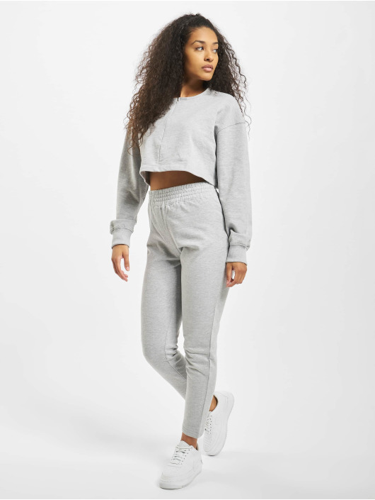 Missguided Dresser Zip Crop grå
