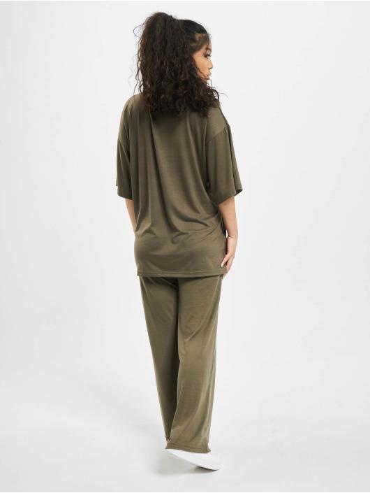Missguided Ensemble & Survêtement Coord Jersey kaki