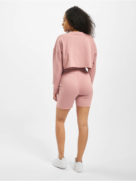 Missguided Ensemble & Survêtement Co-Ord Cycling rose
