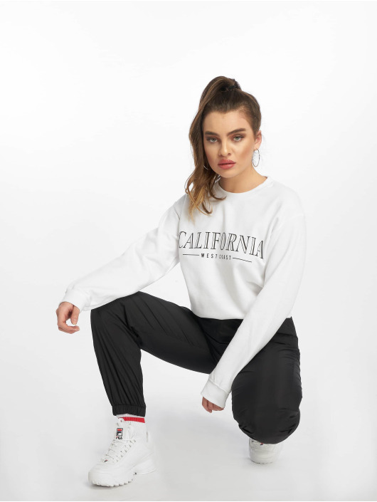 Missguided Gensre California Slogan hvit