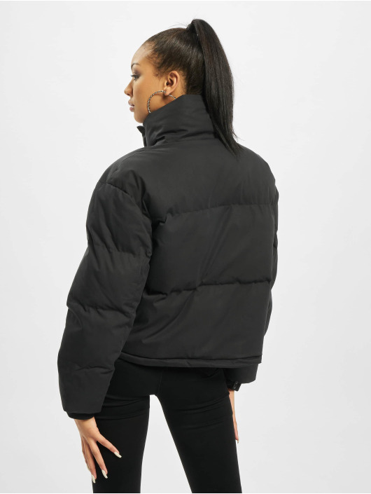 Missguided Gewatteerde jassen Petite Ultimate zwart