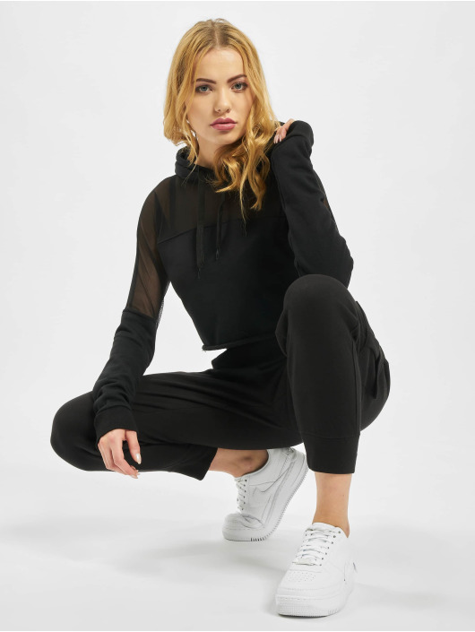 Missguided Hettegensre Active Mesh Panel svart