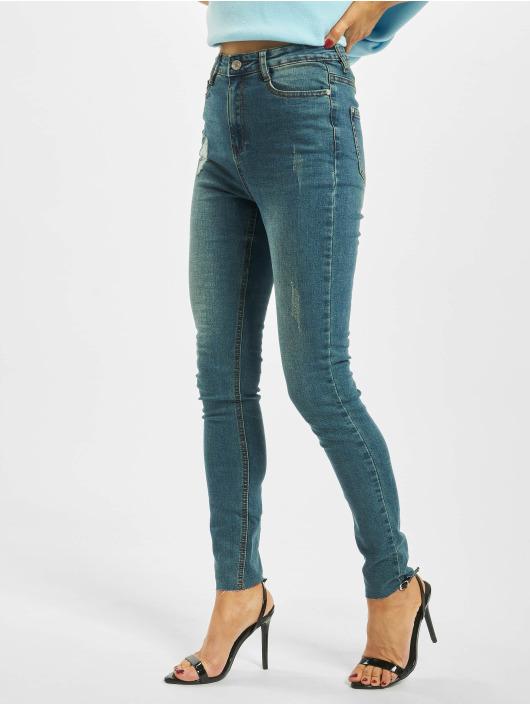 Missguided High Waist Jeans Vintage Sinner Clean High Waist blau