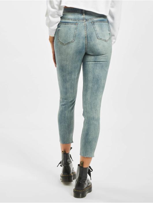 Missguided High Waisted Jeans Petite Sinner синий