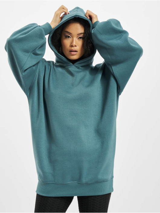 Missguided Hoodie Oversize blue