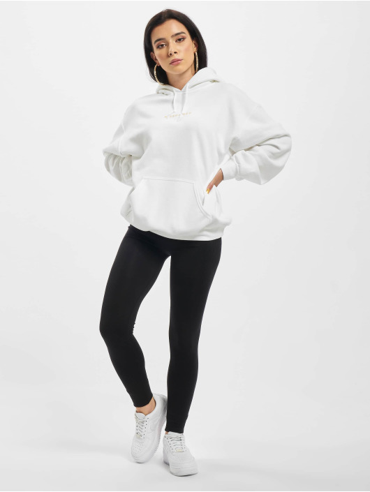 Missguided Hoodie Oversized white