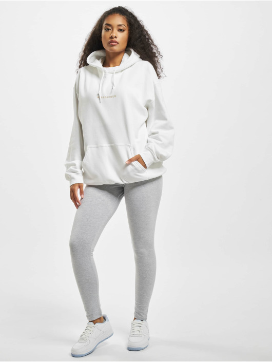 Missguided Hoodie Graphic white