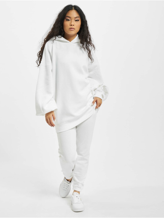 Missguided Hoodie Oversize white