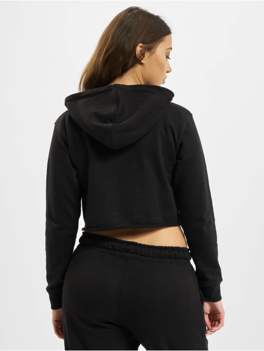 Missguided Hoodies Quarter čern