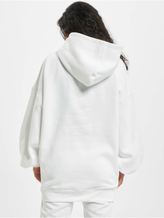 Missguided Hoodies Oversize hvid
