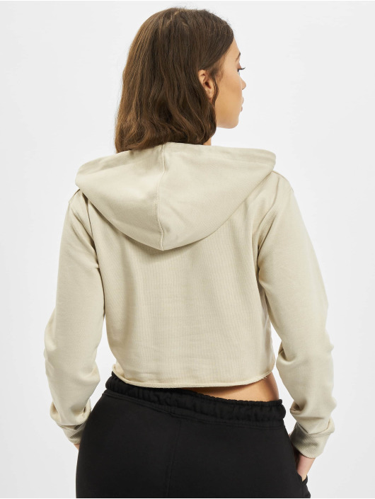 Missguided Hoody Quarter beige
