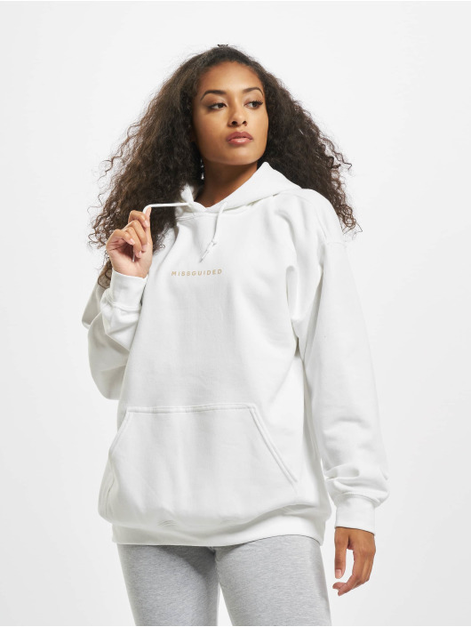 Missguided Hoody Graphic weiß
