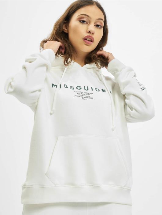 Missguided Hupparit Mishort Sleeveguided Branded valkoinen