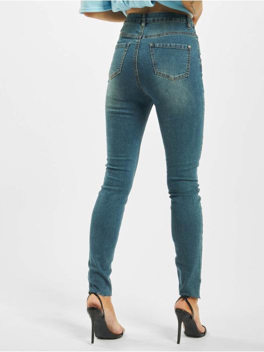 Missguided Jean taille haute Vintage Sinner Clean High Waist bleu