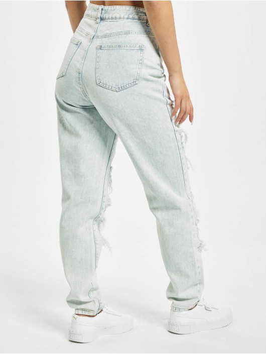 Missguided Jeans Maman Riot Light Vintage bleu