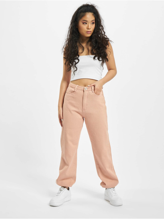 Missguided Jeans Maman Riot magenta