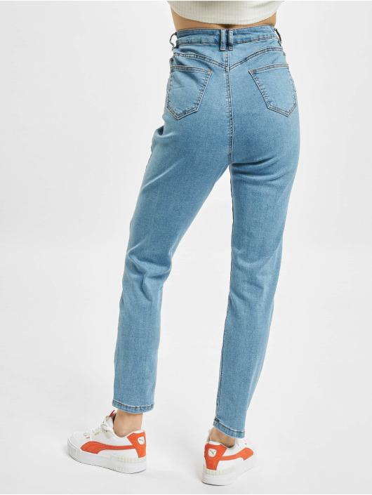 Missguided Jeans slim fit Assets Side Seam Detail Sinner blu
