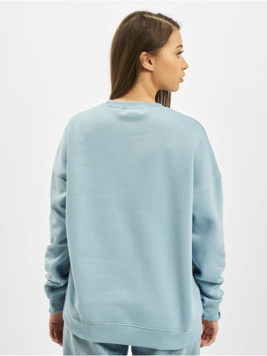 Missguided Jersey Oversized Crew Neck azul