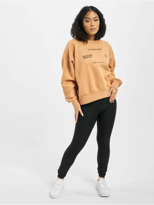 Missguided Jersey Oversize beis