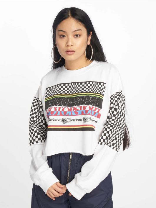Missguided Jersey Motorsport blanco