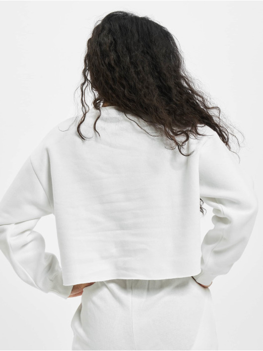 Missguided Jersey Petite Branded Cropped blanco