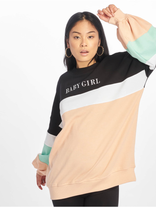 Missguided Jersey Baby Girl Colour Bloack negro