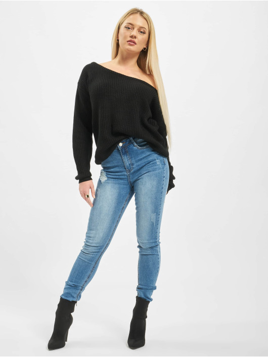 Missguided Jersey Ophelita negro