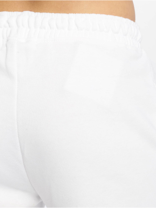 Missguided Joggebukser White Basic hvit